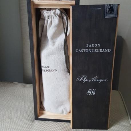 Armanjakas Baron Gaston Legrand 1976 0,7 L su dėž.