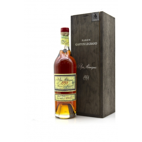Armagnac Baron Gaston Legrand 1991 0,7 L