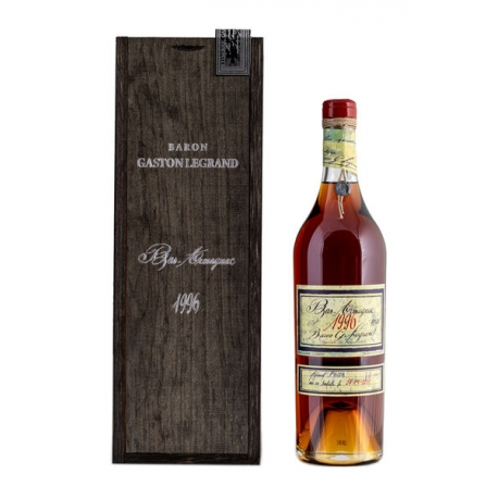 Armagnac Baron Gaston Legrand 1996 0,7 L