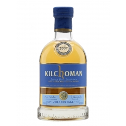 Kilchoman 2007 Vintage Islay Single Malt 0.7 L (su dėž.)