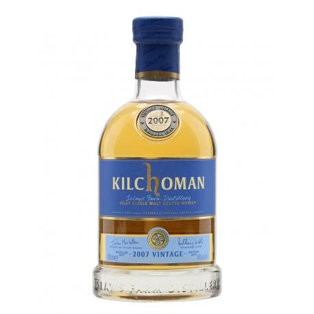 Kilchoman 2007 Vintage Islay Single Malt 46% (su dėž.)