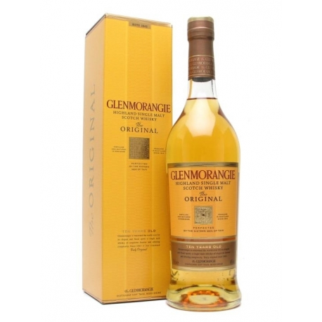 GLENMORANGIE ORIGINAL HIGHLAND SINGLE MALT 10 Y.O. 0.7 L su dėž.