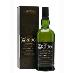 ARDBEG ISLAY SINGLE MALT 10 Y.O. 0.7 L. su dėž.