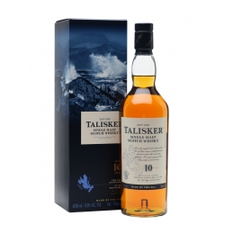 TALISKER ISLE OF SKYE SINGLE MALT 10 Y.O. 0.7 L su dėž.