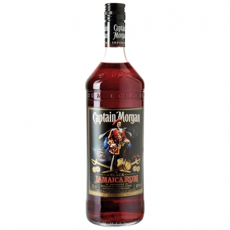 Romas CAPTAIN MORGAN BLACK LABEL RUM 1 L