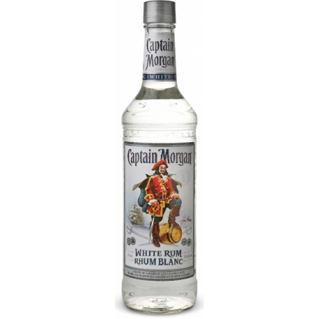 Romas CAPTAIN MORGAN WHITE RUM 0.7 L