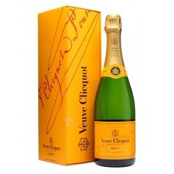 Šampanas Veuve Clicquot Brut Yellow label (su dėžute) 0.75 L