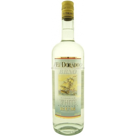 Romas El Dorado White Rum 0.7 L