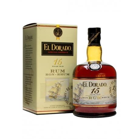 Romas El Dorado Special Reserve 15 Year Old 0.7 L (su dėž.)