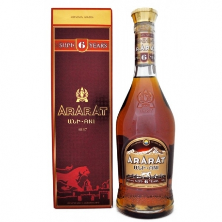 Brendis Ararat Ani 6* 0,5 L (dėžutėje)