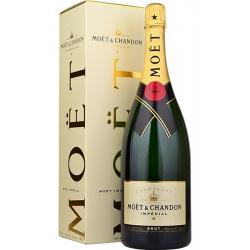 Moët&Chandon Brut Impérial Champagne AC dėžutėje 1.5 L