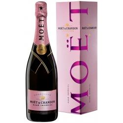 Moët&Chandon Brut Impérial Rosé Champagne dėžutėje 0.75 L