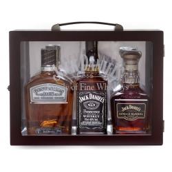 Jack Daniel's viskių rinkinys 3 x 0.7L lagamine